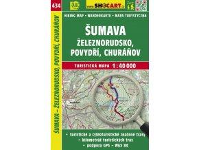 Šumava - Železnorudsko, Povydří - turistická mapa č. 434