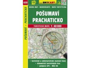 Pošumaví - Prachaticko - turistická mapa č. 439