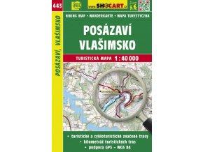 Posázaví, Vlašimsko - turistická mapa č. 443