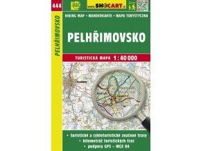 Pelhřimovsko - turistická mapa č. 444