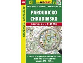 Pardubicko, Chrudimsko - turistická mapa č. 448