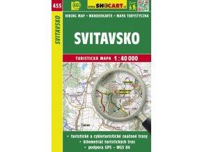 Svitavsko - turistická mapa č. 455