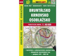 Bruntálsko, Krnovsko, Osoblažsko - turistická mapa č. 459