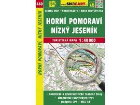 Horní Pomoraví, Nízký Jeseník - turistická mapa č. 460