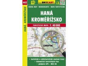 Haná, Kroměřížsko - turistická mapa č. 462