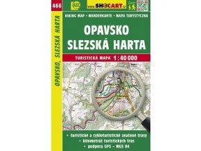 Opavsko, Slezská Harta - turistická mapa č. 466