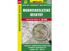Moravskoslezské Beskydy - turistická mapa č. 469