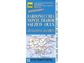 Alta Valle di Susa, Valle Stretta (Bardonecchia, M.Thabor, Sauzed´Oulx) - IGC104