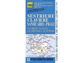 Alta Valle Susa, Chisone, Germanasca (Sestriere, Claviere, Prali, Thuras) - IGC105