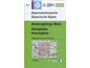 Ammergebirge, West, Hochplatte, Kreuzspitze  (DAV 6)