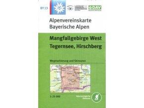 Mangfallgebirge West, Tegernsee, Hirschberg (DAV 13)