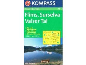 Flims, Surselva, Valser Tal (Kompass - 123)