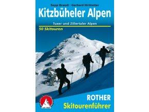 Kitzbüheler Alpen - skialpinistický průvodce