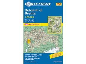 Dolomiti di Brenta (Tabacco - 053)