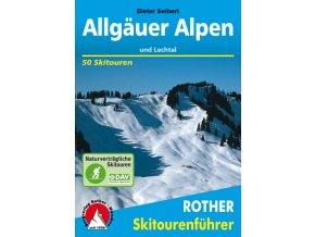 Allgäuer Alpen - skialpinistický průvodce