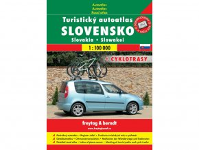 Turistický autoatlas Slovensko