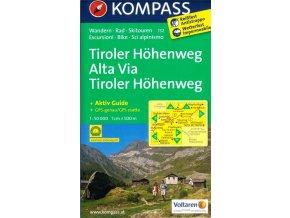 Tiroler Höhenweg, Alta Via (Kompass - 132)