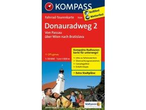 Donauradweg , Dunajská cyklostezka 2 (Kompass – 7004)