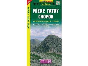 NízkéTatry,Chopok - turistická mapa (shocart č.1094)
