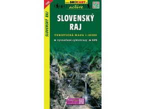 Slovenskýraj - turistická mapa (shocart č.1106)