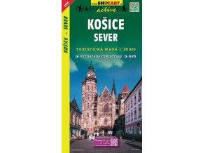 Košicesever - turistická mapa (shocart č.1111)