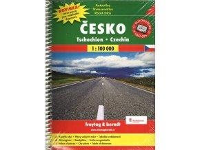 Česko - autoatlas 1:100 000