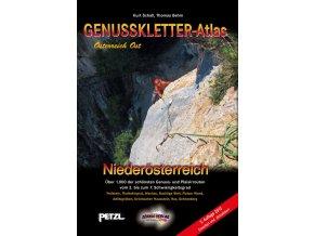 Genusskletter atlas Niederösterreich - horolezecký průvodce