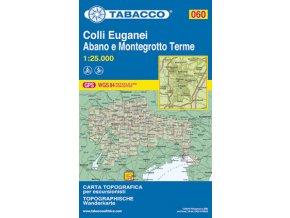 Colli Euganei, Abano e Montegrotto Terme (Tabacco - 060)