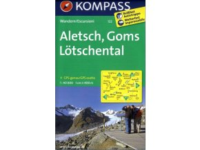 Aletsch, Goms, Lötschental (Kompass - 122)