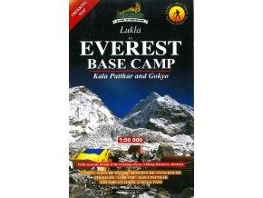 Everest BC, Gokyo - trekingová mapa