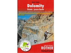 Dolomity, Brenta a jezero Garda - zajištěné cesty