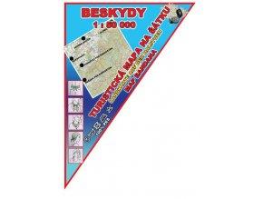 Beskydy - mapa na šátku