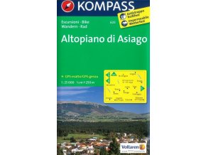 Altopiano di Asiago (Kompass - 623)