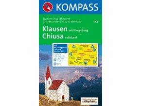 Klausen und Umgebung, Chiusa e dintorni (Kompass - 059)