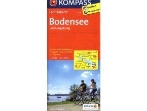 Bodensee und umgebung, Bodamské jezero a okolí (Kompass - 3113)