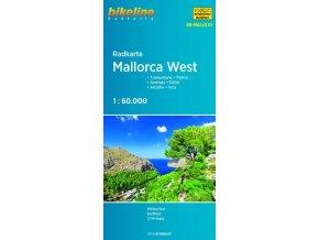 Mallorca západ - cyklomapa