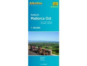 Mallorca východ - cyklomapa