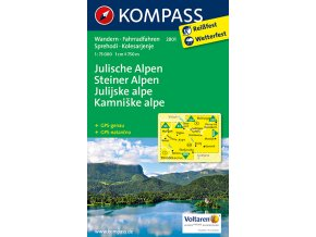 Julische Alpen, Steiner Alpen - Julské a Kamnišké Alpy (Kompass - 2801)