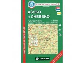 Ašsko a Chebsko -  mapa KČT č.1