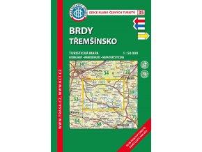 Brdy, Třemšínsko -  mapa KČT č.35