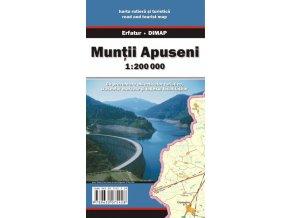 Muntii Apuseni - turistická mapa