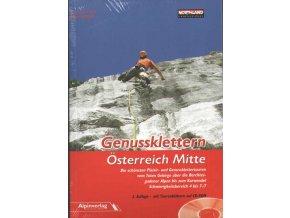 Genussklettern Österreich Mitte - horolezecký průvodce