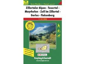 Zillertaler Alpen, Tuxertal, Mayrhofen, Zell im Zillertal, Gerlos, Finkenberg (WK5152)