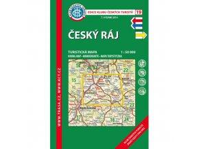 Český ráj -  mapa KČT č.19