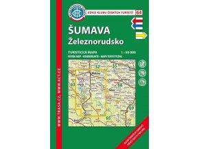 Šumava -  Železnorudsko -  mapa KČT č.64
