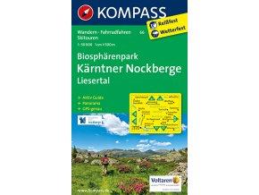 Biosphärenpark Kärntner Nockberge - Liesertal (Kompass - 66)