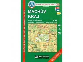 Máchův kraj -  mapa KČT č.15