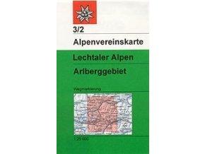 Lechtaler Alpen, Arlberg (letní) – AV3/2