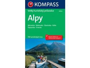 Alpy - velký turistický průvodce