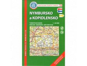Nymbursko a Kopidlnsko -  mapa KČT č.18